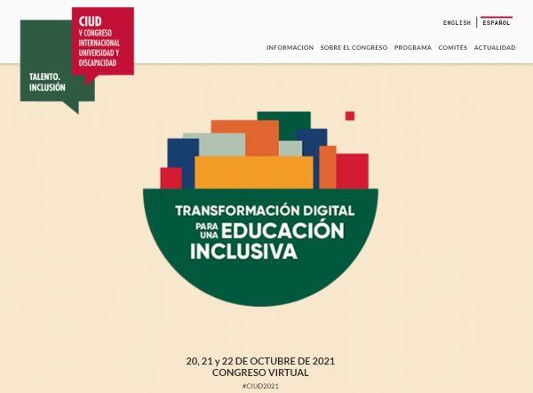 V Congreso Universidad y Discapacidad de Fundación ONCE