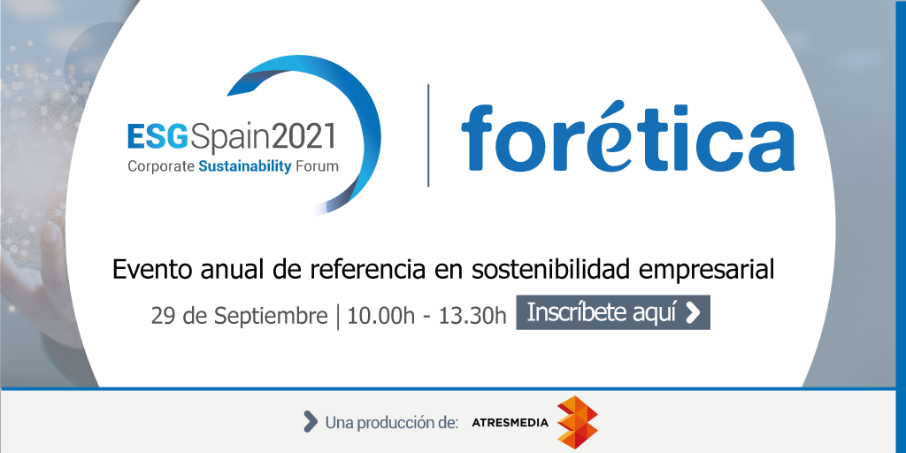 ESG Spain 2021 – Corporate Sustainability Forum