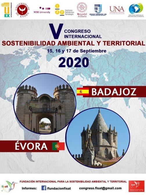 V Congreso Internacional sobre Sostenibilidad Ambiental y Desarrollo Territorial