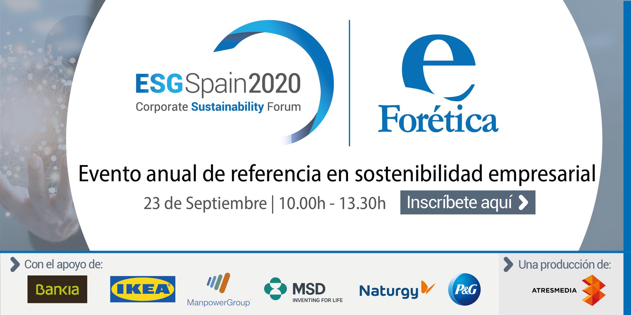 ESG Spain 2020: Corporate Sustainability Forum