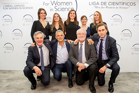 "L'Oréal España impulsa la Liga de científicos masculina ""Men For Women in Science"""