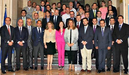 Miembros del Consejo estatal de la RSe de Espña