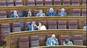Sesion plenaria Congreso de los Diputados